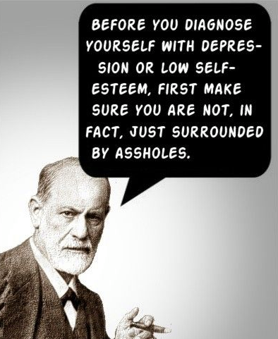 image Freud via wiredforhappy.com