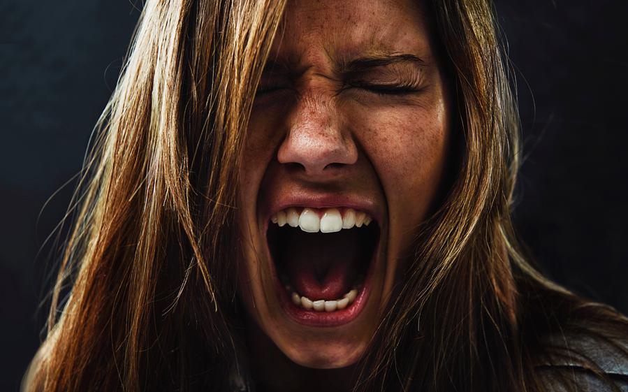 image angry woman